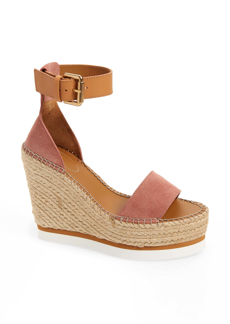 See by Chloé 'Glyn' Espadrille Wedge Sandal (Women)