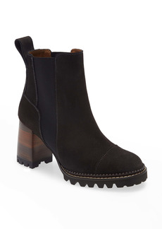 See by Chloé Mallory Pull-On Bootie (Women)