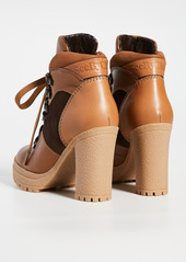 See by Chloé See by Chloe Aure Platform Hiker Boots