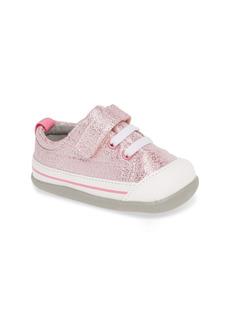 See Kai Run Stevie II Sparkle Sneaker (Baby & Walker)