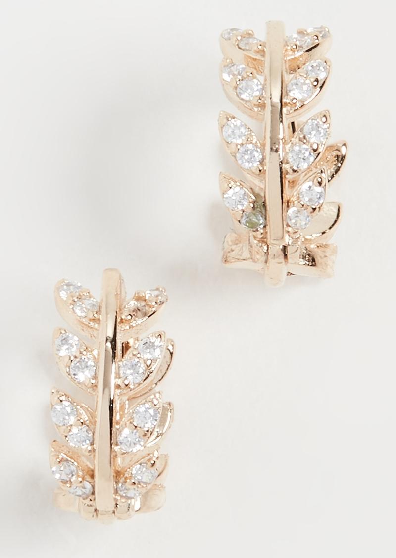 Shashi Amelia Huggie Earrings