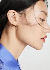 SHASHI Anise Huggie Earrings