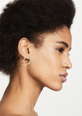 Shashi Dominique Hoop Earrings