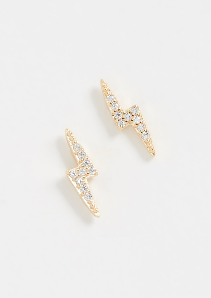 SHASHI Electric Stud Earrings
