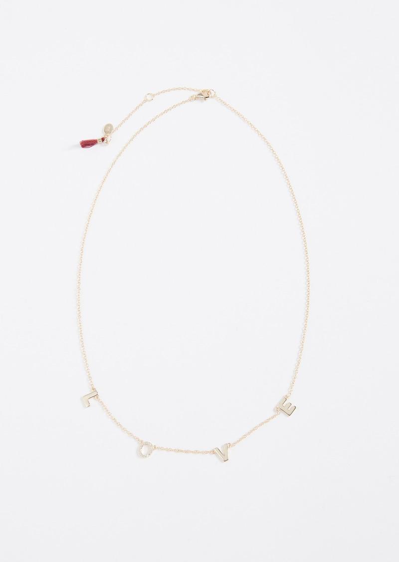 Shashi Love Necklace