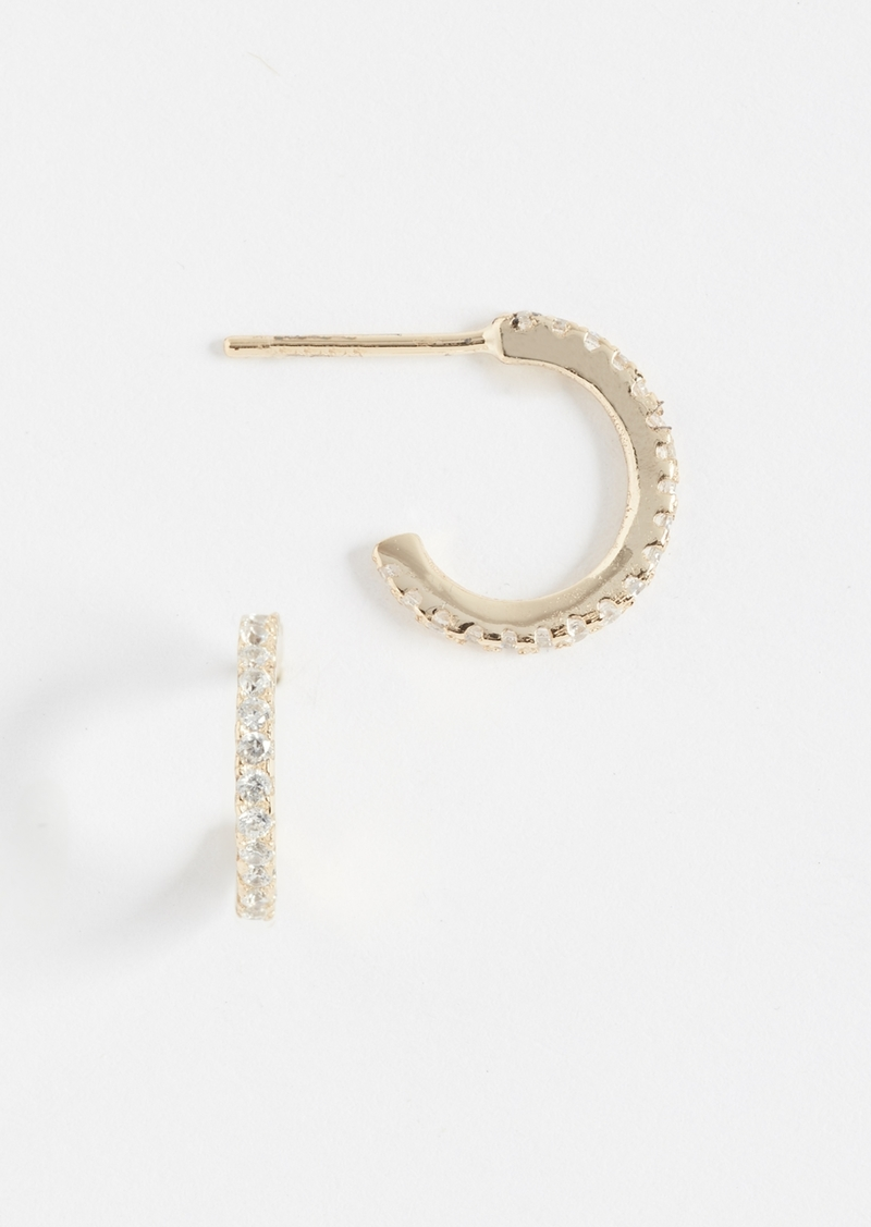 Shashi Mini Hoop Earrings