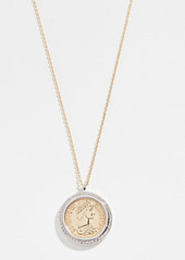 Shashi Pendant Coin Necklace