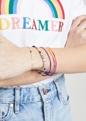 Shashi Smile Rainbow Bracelet