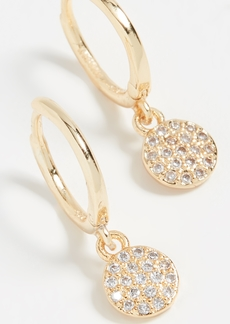 Shashi Sparkly Sky Huggie Earrings