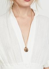 Shashi Warrior Double Pendant Necklace