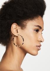 Shashi Windy Hoop Earrings