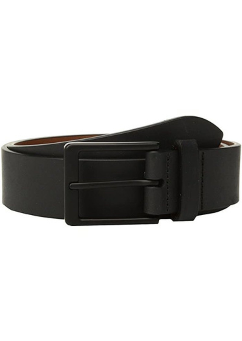 "Shinola 1 1/2"" Lightning Bolt Keeper Belt Nappa"