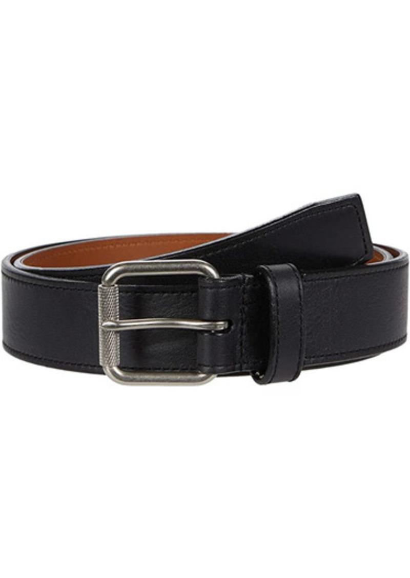 "Shinola 1 1/2"" Mack Belt Smooth Grain Leather BR"