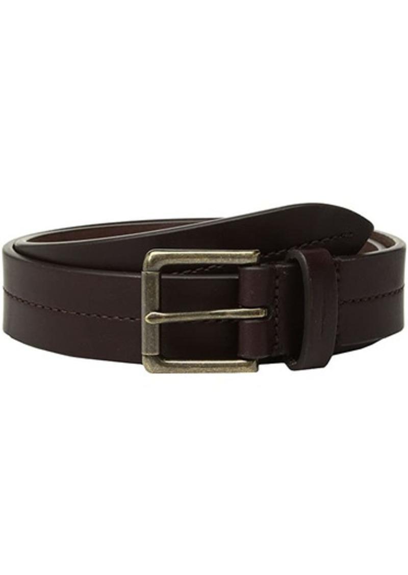 """Shinola 1 1/4"""" Center Stitch Roller Belt Bridle AG"""