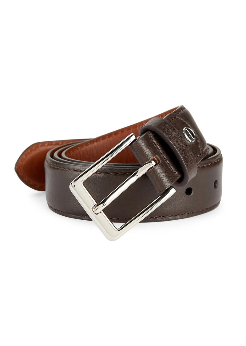 Shinola Bomb Beta Leather Belt