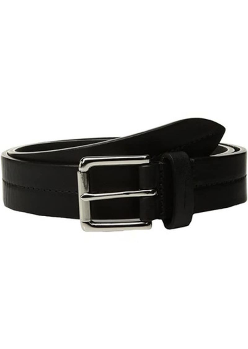 """Shinola Bridle 1 1/4"""" Center Stitch Roller Belt"""