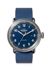 Shinola Detrola The Daily Wear Stainless Steel & Silicone Strap Watch