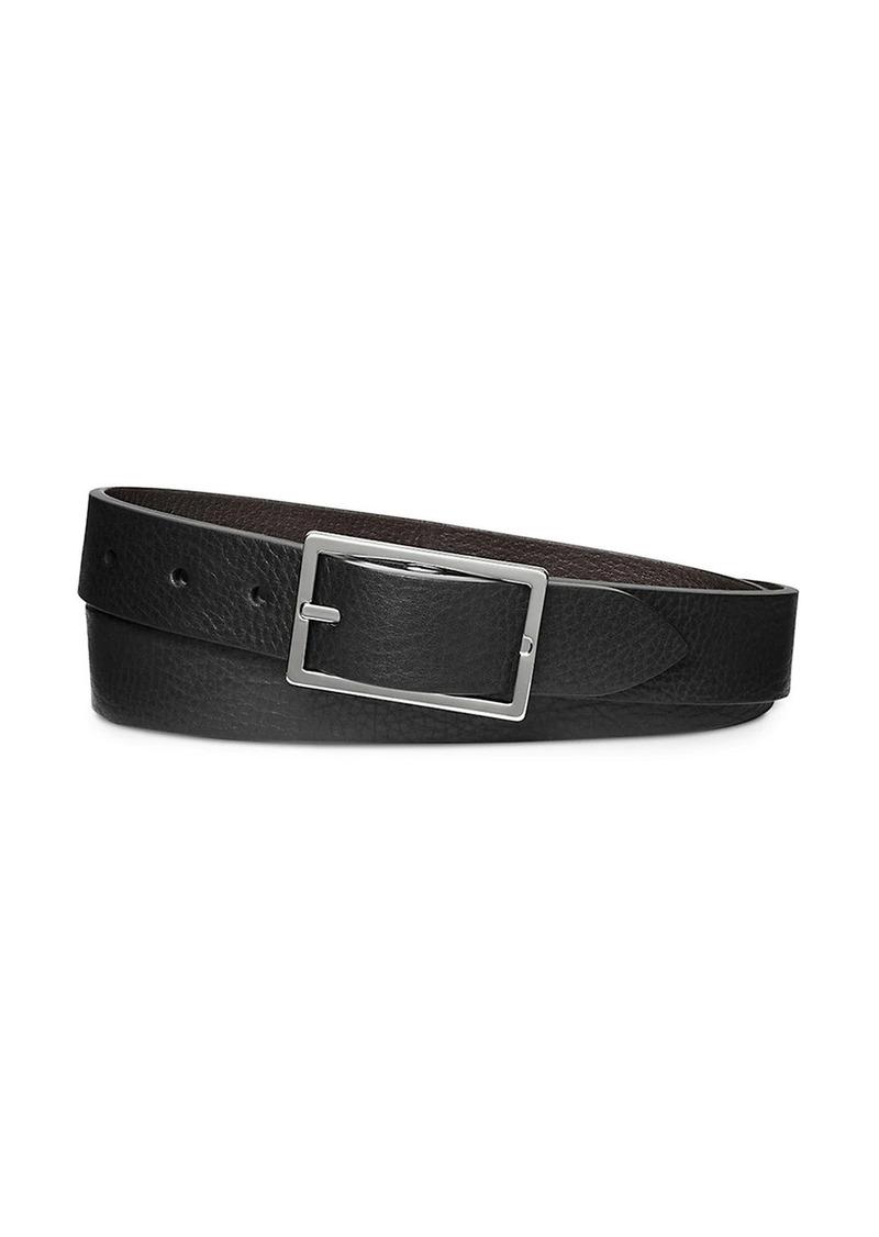 Shinola Four-Notch Leather Belt
