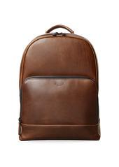 Shinola Fulton Leather Backpack