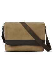 Shinola Leather & Suede Navigator Slim Messenger Bag