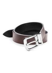 Shinola Leather Reversible Belt