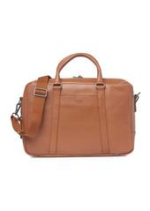 Shinola Leather Signature Slim Leather Briefcase