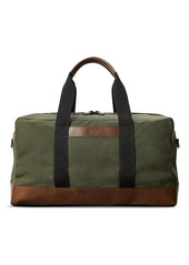 Shinola Mack Waxed Canvas Duffle Bag