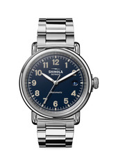 Shinola Runwell Automatic Stainless Steel Bracelet Watch