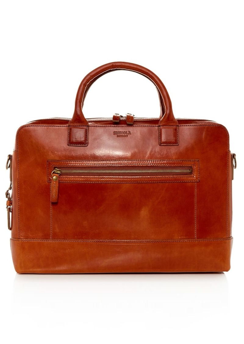 Shinola Bedrock Leather Briefcase