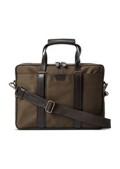 Shinola Brakeman Canvas Briefcase