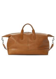 Shinola Canfield Classic Leather Duffle Bag