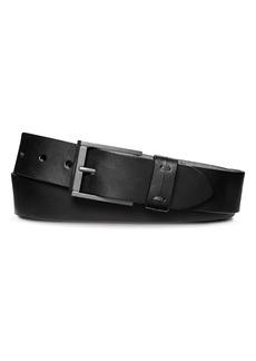 Shinola Double Keeper Belt