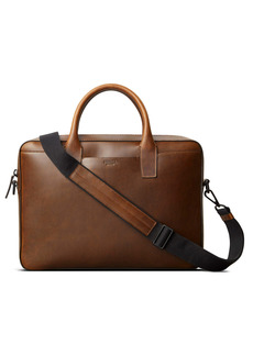 Shinola Fulton Navigator Leather Briefcase