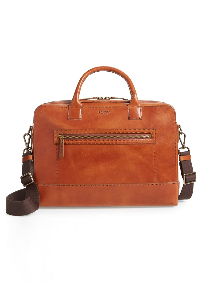 Shinola Harness Bedrock Leather Briefcase