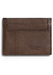 Shinola Heritage RFID Leather Card Case