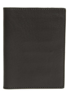 Shinola Leather Passport Wallet