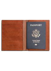 Shinola Leather Passport Wallet