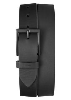 Shinola Lightning Bolt Keeper Leather Belt
