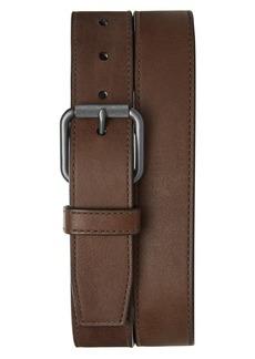 Shinola Mack Leather Belt