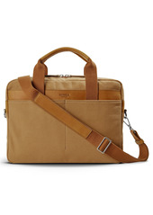 Shinola Mack Water Resistant Canvas Briefcase