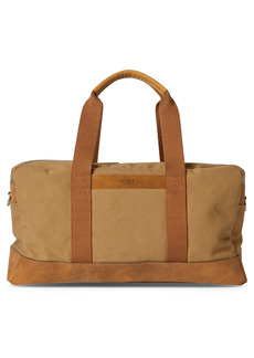 Shinola Mack Water Resistant Canvas Duffle Bag