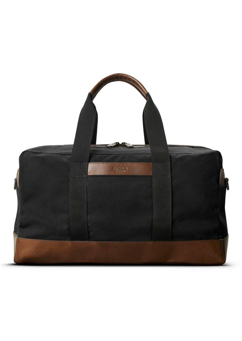 Shinola Mack Waxed Canvas Duffle Bag