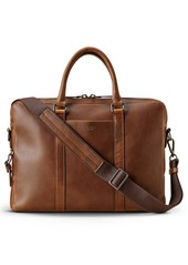 Shinola Navigator Leather Computer Briefcase