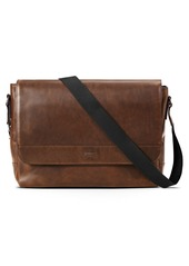 Shinola Navigator Leather Messenger Bag