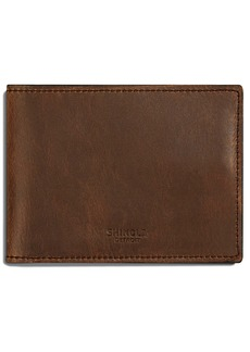 Shinola Navigator Leather Wallet