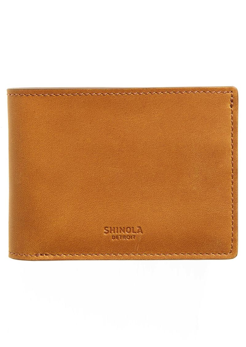 Shinola Navigator Leather Wallet
