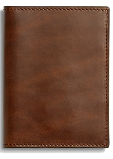 Shinola Navigator Passport Wallet