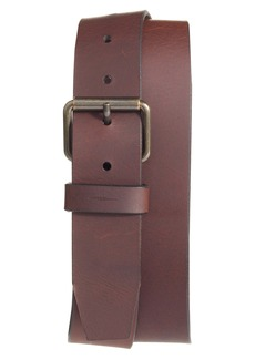 Shinola Rambler Leather Belt
