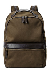 Shinola Runwell Canvas & Leather Laptop Backpack