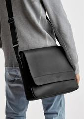 Shinola Slim Leather Messenger Bag